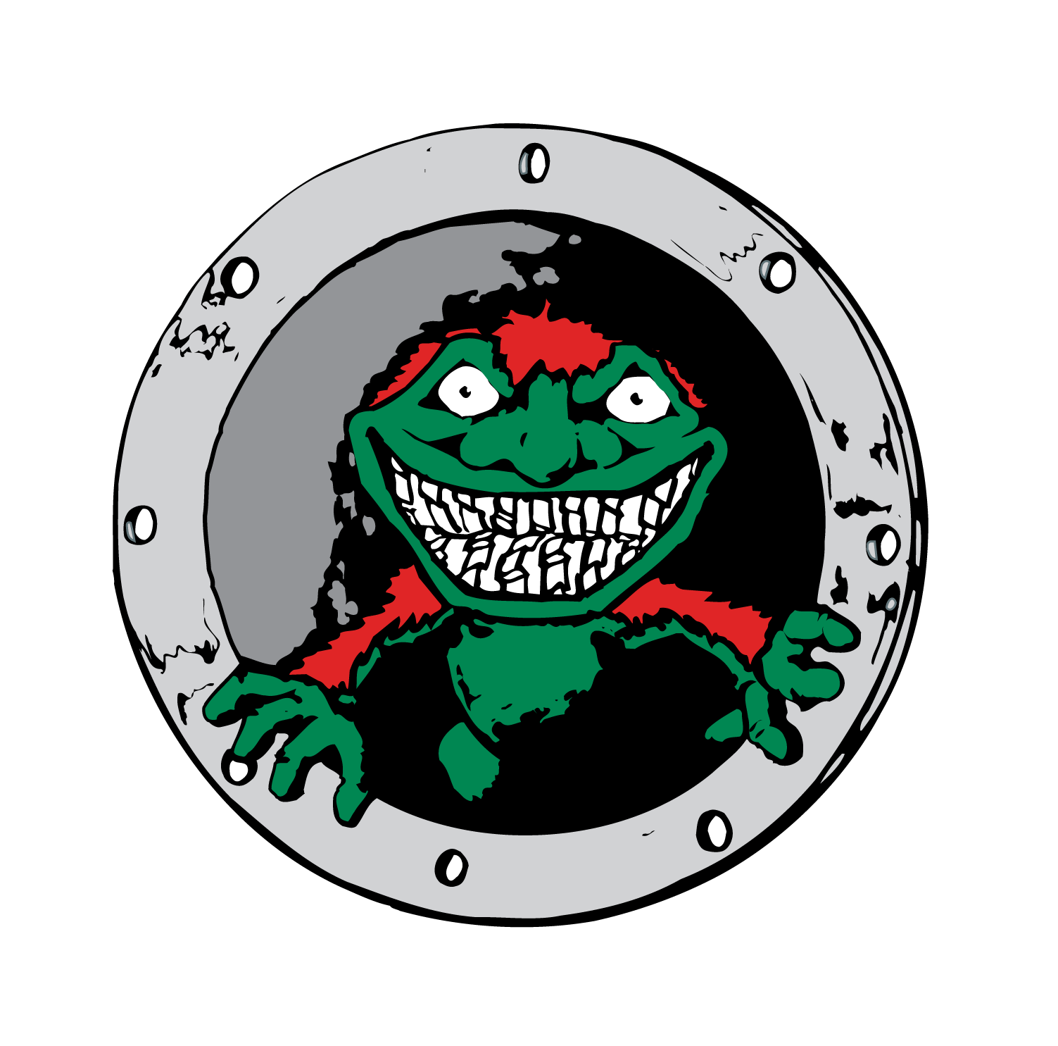 Muffin Monster sewage grinder logo